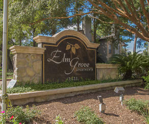 Community Signage, Elm Grove Apartments