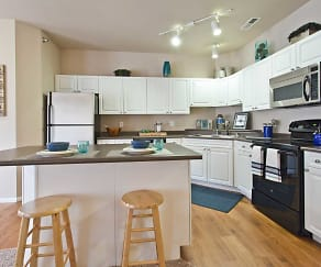 Kitchen, Hearthstone Apartments And Townhomes