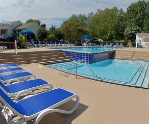 Pool, Huntington Apartments