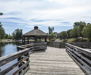 Dock with Gazebo, Caveness Farms Apartment Homes