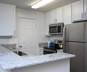Kitchen, Southfield Apartments