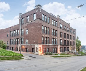 Building, Moline High School Lofts