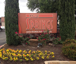 Community Signage, The Springs
