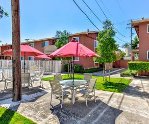 Recreation Area, Carmel Park Apartments