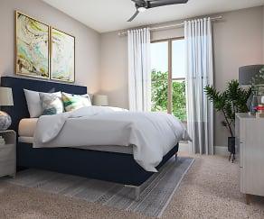 Bedroom, Belvedere at Berewick- 55+ Luxury Community