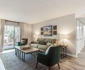 Living Room, Pinewood at National Hills