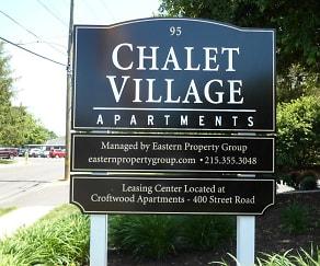 Community Signage, Chalet Village
