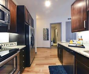 Kitchen, Memorial Hills Apartments