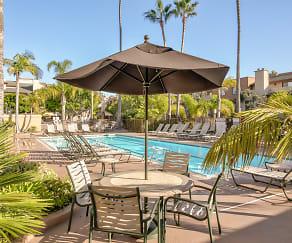 Pool, La Jolla International Gardens