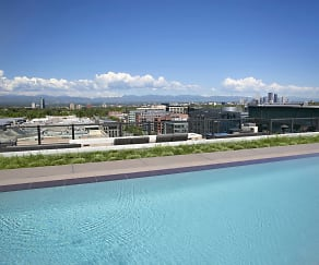 Pool, Steele Creek Apartments