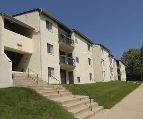 Building, River Front Apartments