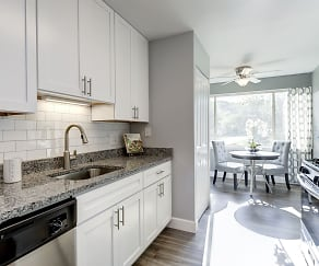 Kitchen, Satyr Hill Apartments