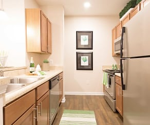 Kitchen, The Apartments at Brayden