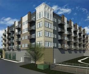 Building, Birdtown Flats