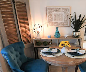 Dining Room, Legacy Bay Townhomes