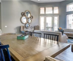 Dining Room, Ingleside Apartments