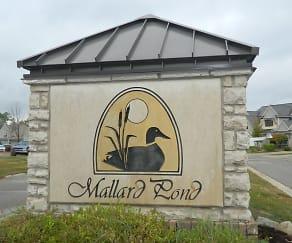 Community Signage, Mallard Pond Apartments