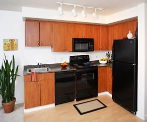Kitchen, AVA Belltown