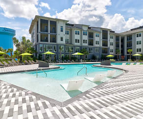 Pool, The Adley Lakewood Ranch Waterside