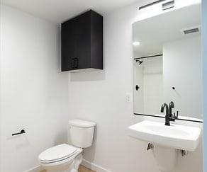 Bathroom, Track 66 Apartments