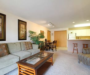 Living Room, Weybridge Apartment Homes
