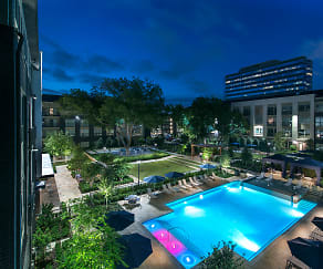 Pool, Hanover Midtown Park Apartments