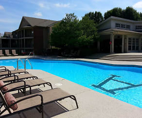 Pool, Garden Park Apartments