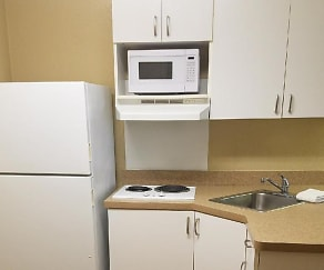 Kitchen, Furnished Studio - Roanoke - Airport