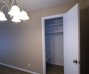 Large Storage Closets, Chapelwood Place Apartments