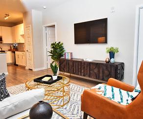 Living Room, Pointe at Lake Crabtree