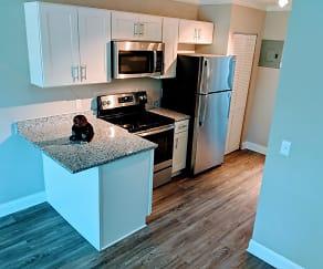 Kitchen, Mariner's Village Apartments