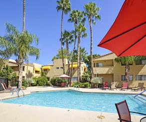 Pool, Sunflower Apartments