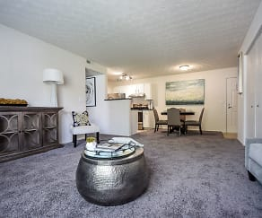 Living Room, Enclave at Albany Park