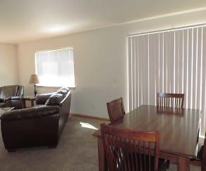 Dining Room, Ubiquity Duplexes - Powers Lake