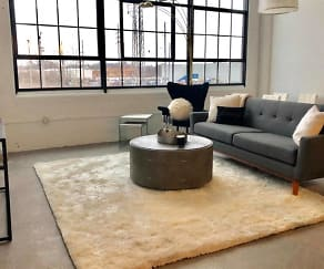 Living Room, Woodward Lofts