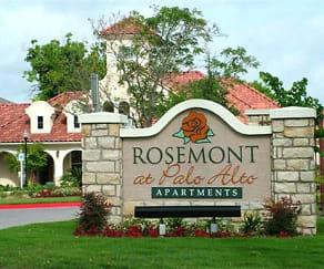 Community Signage, Rosemont at Palo Alto