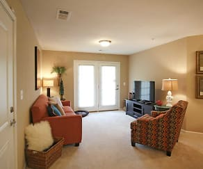 Living Room, The Overlook at Allensville Square