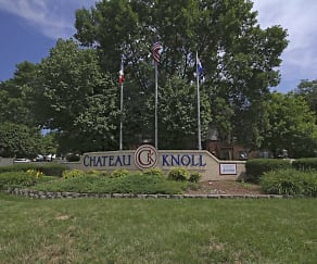 Community Signage, Chateau Knoll Apartments