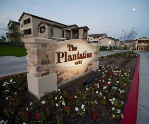 Community Signage, The Plantation Apartments