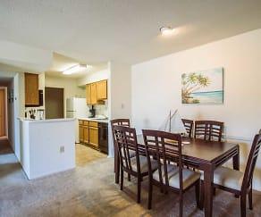 Kitchen, Pass Pointe Apts