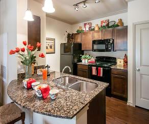 Kitchen, Pecan Springs Apartments