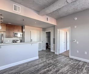 Living Room, Two32 Apartments