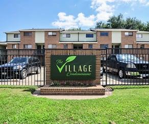 Community Signage, Village Condominiums