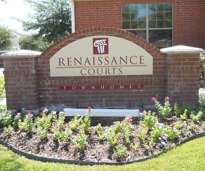 Community Signage, Renaissance Courts