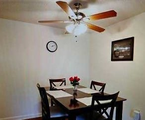 Dining Room, Breckenridge Apartments