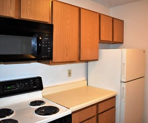 Kitchen, Northcrest Apartments