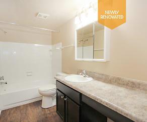 Bathroom, Jamestown Village