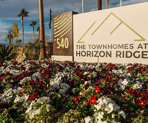 Community Signage, The Townhomes at Horizon Ridge