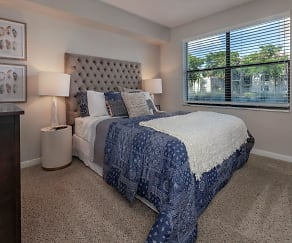 Bedroom, Ashley Lake Park Apartments