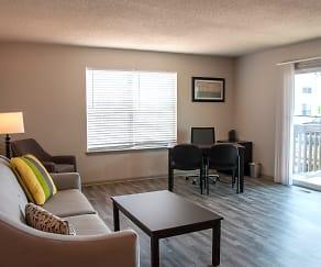 Living Room, Boardwalk Realty & Development